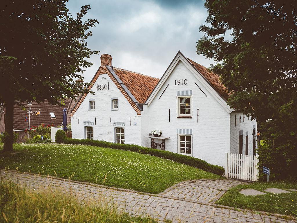 Traumferien Ostfriesland Ferienhaus Huus ant diek